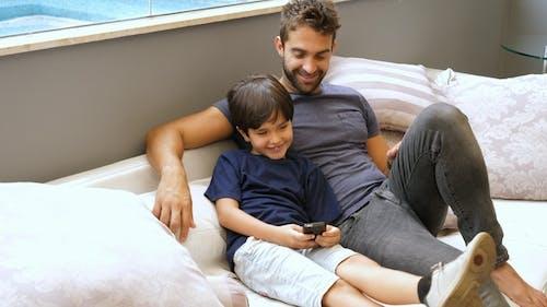 Dad and Boy Bonding