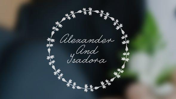 Thumbnail for Wedding Animated Typeface
