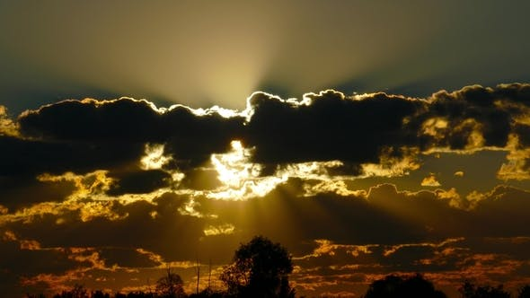 Cover Image for Sunrise Clouds Sky Background,