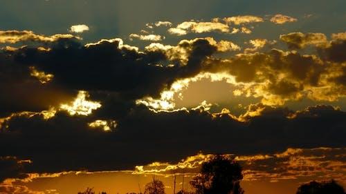 Sunrise Clouds Sky Background
