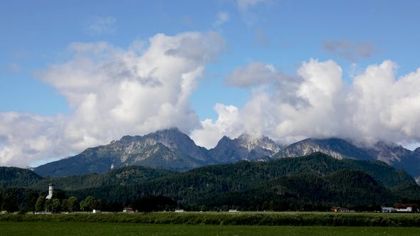 Thumbnail for Forggensee and Schwangau , Germany, Bavaria