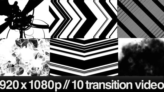 Thumbnail for 10 HD Transitions Bundle - B