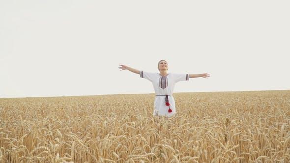 Thumbnail for Girl in National Ukrainian Costume