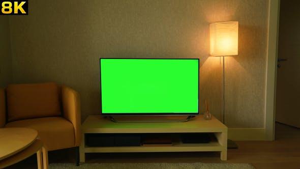 Thumbnail for Green Screen Television at Home