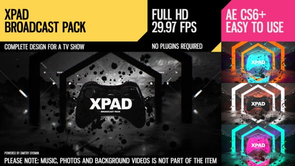 Thumbnail for XPaD (Broadcast Pack)