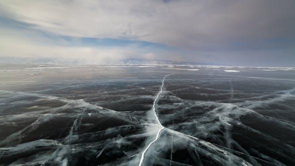 Thumbnail for Sunset on the Ice of Lake Baikal