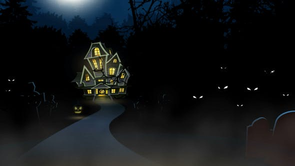 Thumbnail for Halloween Theme of a Haunted House