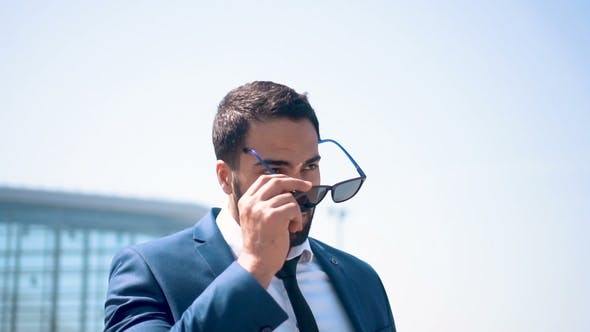 Thumbnail for Businessman Wearing Sunglasses