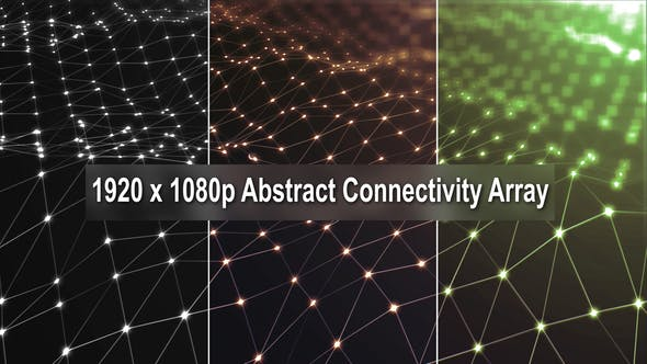 Cover Image for 3 Abstract Connectivity Array