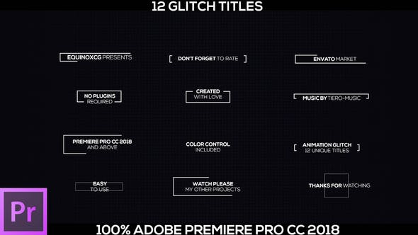 Thumbnail for 12 Glitch Titles