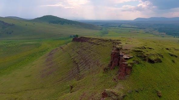 Thumbnail for Aerial View of the Mountain Range Sunduki