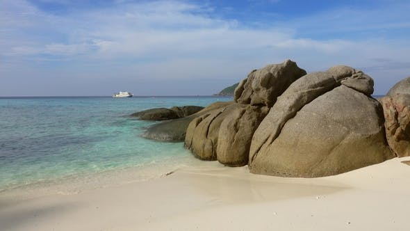 Thumbnail for Beach Between Rocks on Similan Islands, Thailand