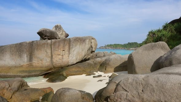 Thumbnail for Beach and Rocks on Similan Islands, Thailand