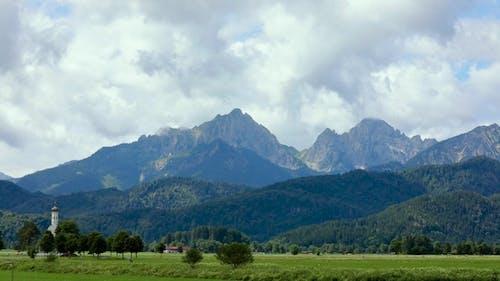 Forggensee and Schwangau, Germany, Bavaria
