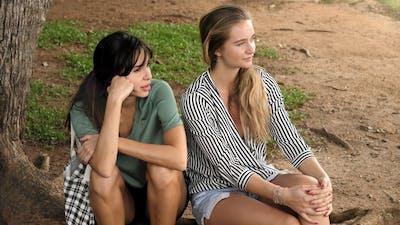 Girlfriends in Park