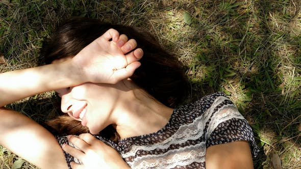 Thumbnail for Sunbathing Young Woman
