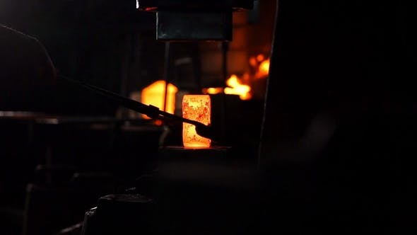 Thumbnail for Drop Forged Hammer Forging