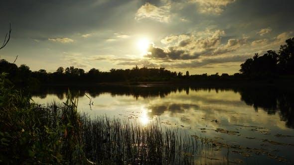 Thumbnail for River Sunset Beautiful Landscape