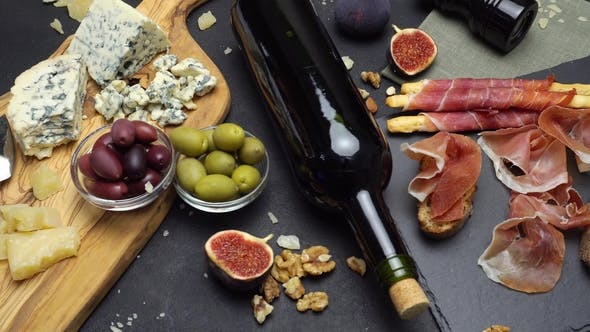 Thumbnail for Video of Traditional Italian Food and Wine