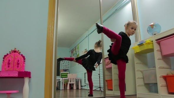 Thumbnail for The Little Girl Dance Ballerina