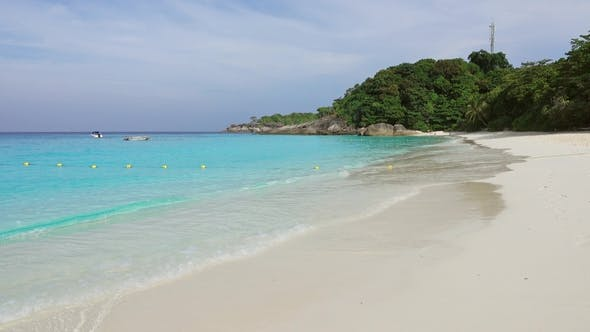 Thumbnail for Deserted White Sand Beach on Similan Islands