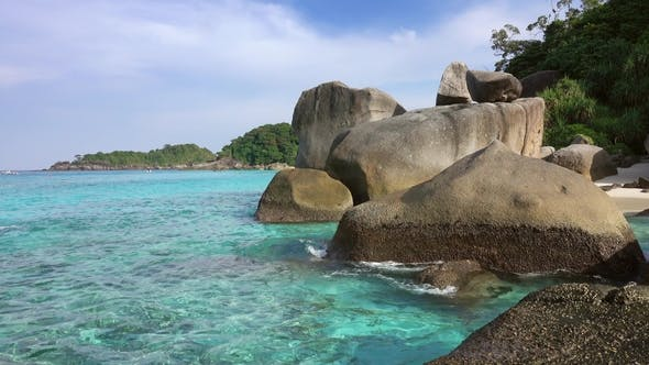 Thumbnail for Landscape with Rocks on Similan Islands, Thailand