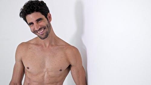 Happy Topless Guy