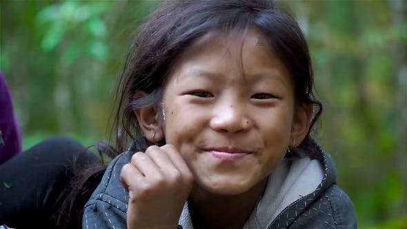 Thumbnail for Portrait of a Nepalese Girl