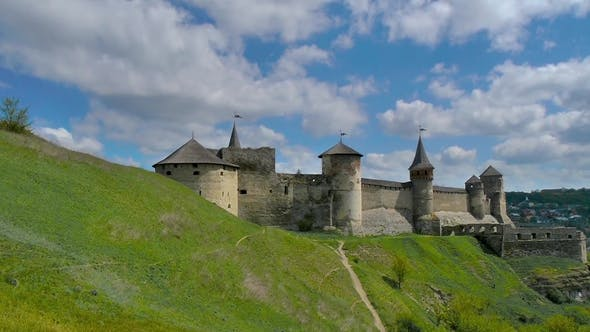 Old Fortess in Kamenetc-Podilsky