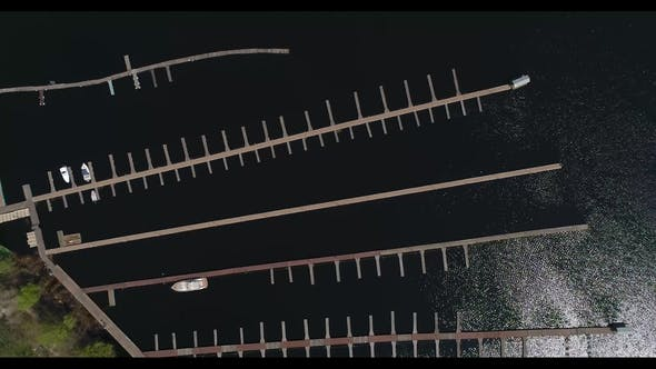 Thumbnail for Aerial View of the Marina in Kiev.