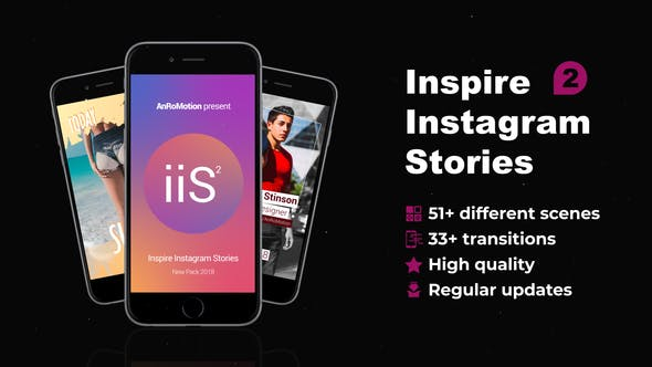 Thumbnail for Inspire Instagram Stories V2