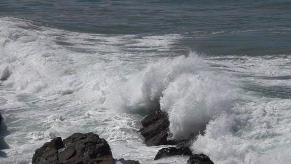 Big Stormy Ocean Wave