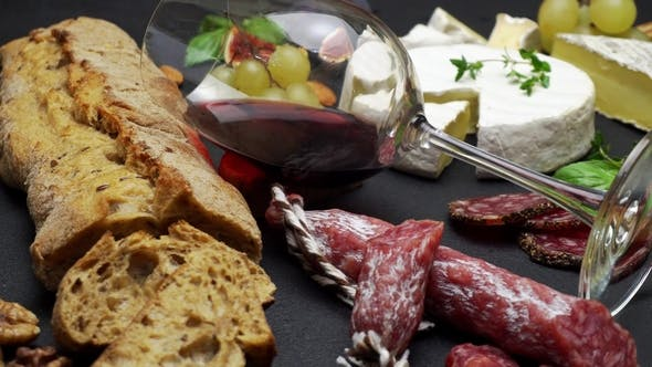 Thumbnail for Traditional Italian Food and Red Wine