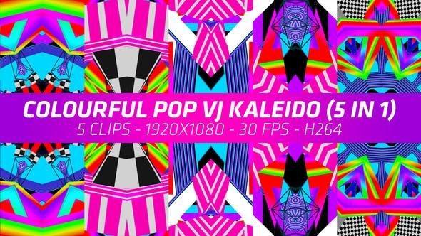 Colourful Pop VJ Kaleido