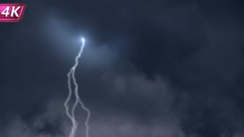 Eine mächtige Sturmfront