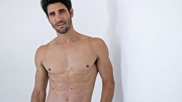 Thumbnail for Topless Guy Portrait
