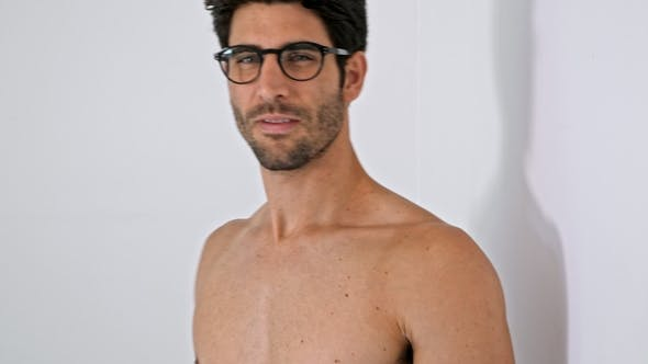 Handsome Hunk in Spectacles