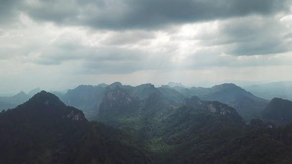 Thumbnail for Mountains of Khao Sok National Park in Thailand