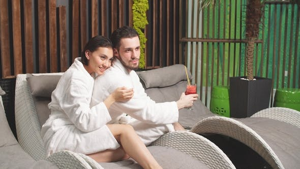 Spa Program for Couples. Romantic Date for Amorose in Spa Resort