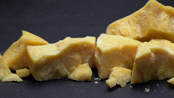 Thumbnail for Pieces of Parmesan or Parmigiano Cheese