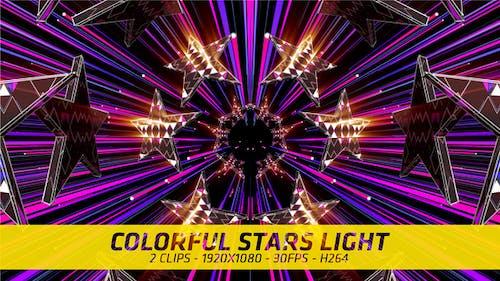 Colorful Star Light