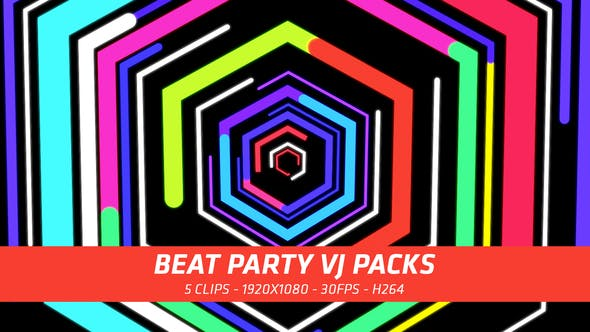 Thumbnail for Beat Party VJ Packs