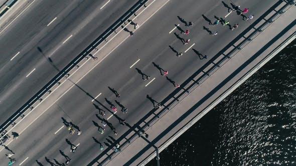 Marathon Running on the Bridge