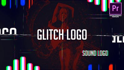 Sound Glitch - Logo Reveal
