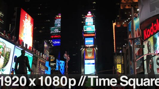 Thumbnail for Times Square, NYC at Night