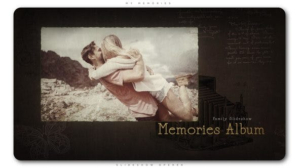 My Memories Diashow-Opener