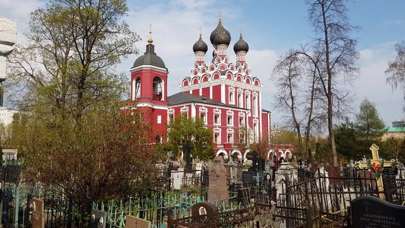 Thumbnail for Temple of Tikhvin Icon of Mother God in Moscow, Russia