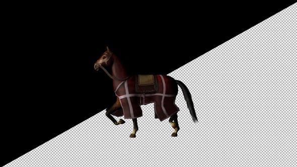 Thumbnail for Medieval War Horse Canter Walk