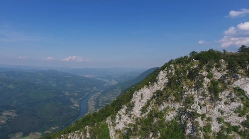 Banjska Stena on Drina River, Serbia
