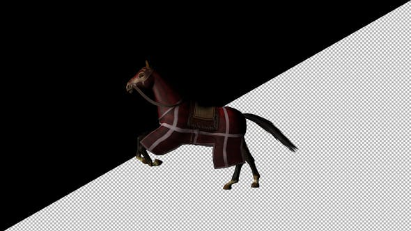 Thumbnail for Medieval War Horse Gallop
